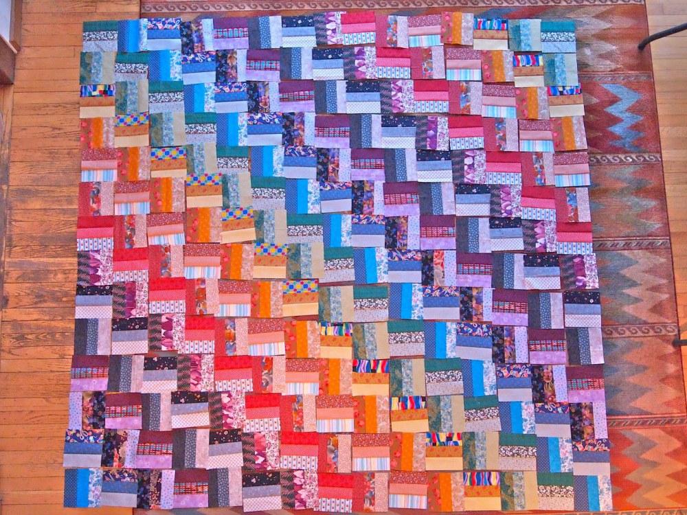 roman squares quilt