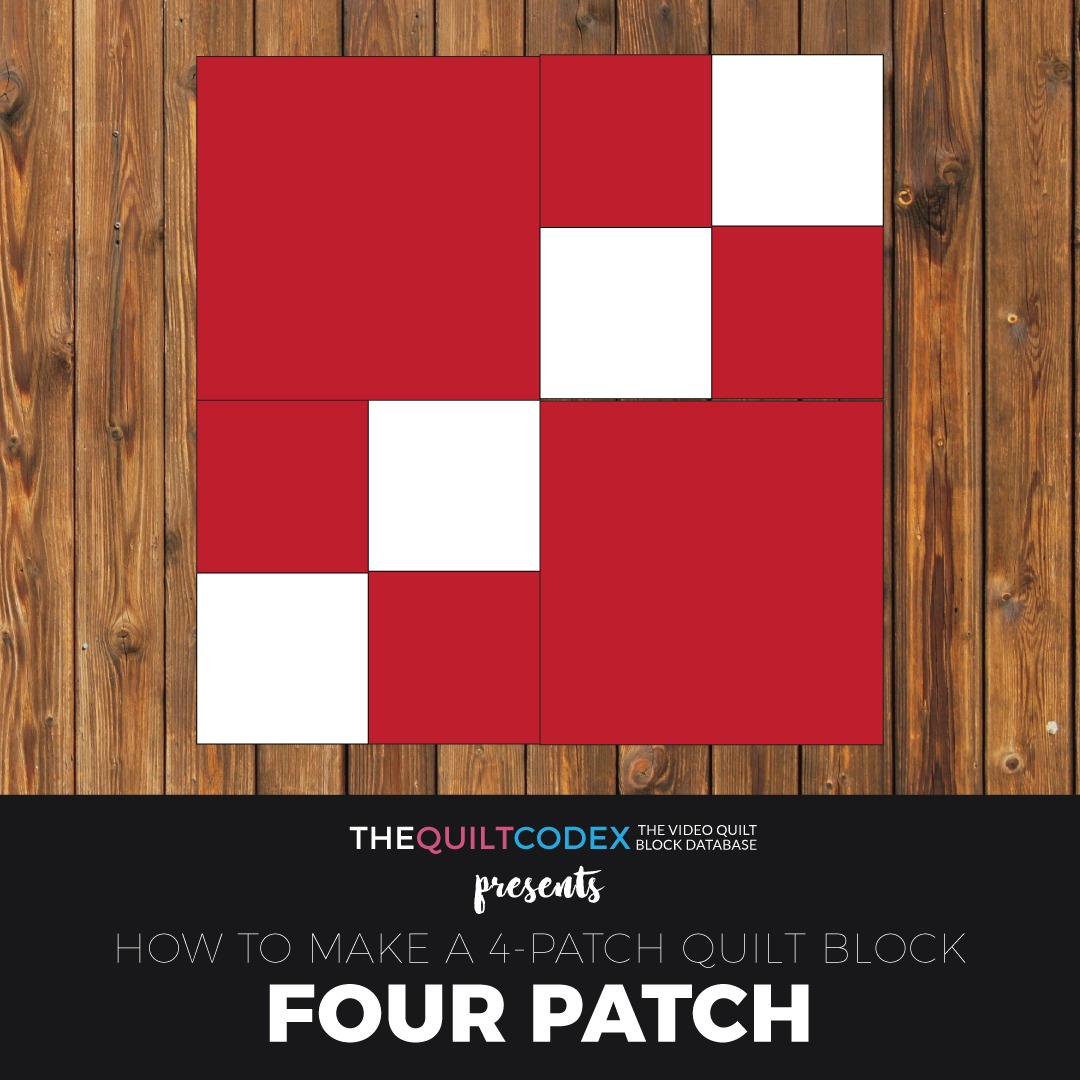 Four-Patch-quilt-block