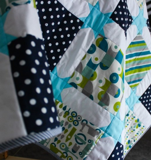 star sashing quilt