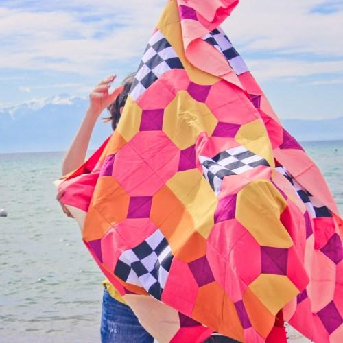 Lifesaver quilt pantone challenge