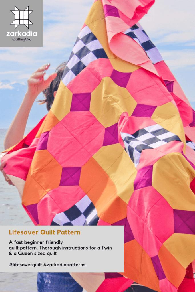 Lifesaver bowtie quilt pattern