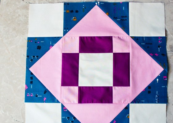 Meadowland quilt block