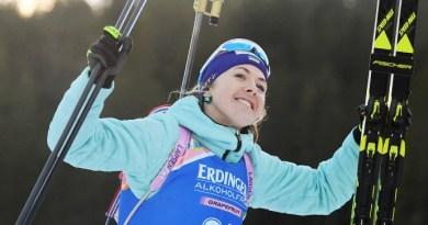 Першу медаль для збірної України з біатлону в  цьому сезоні виграла Джима