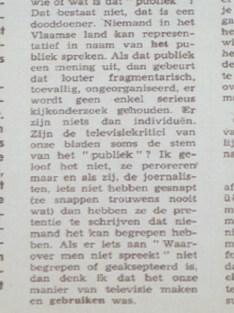Jef Cornelis in Humo 1969 citaat 6/6
