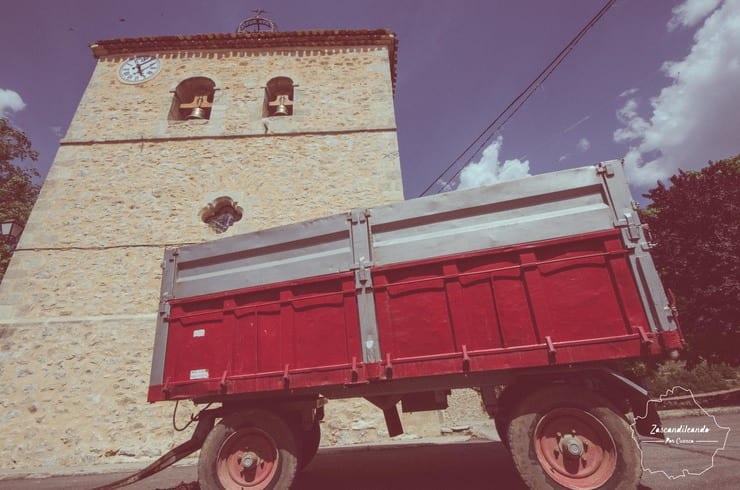 Parroquia de San Bernabé en Lagunasec