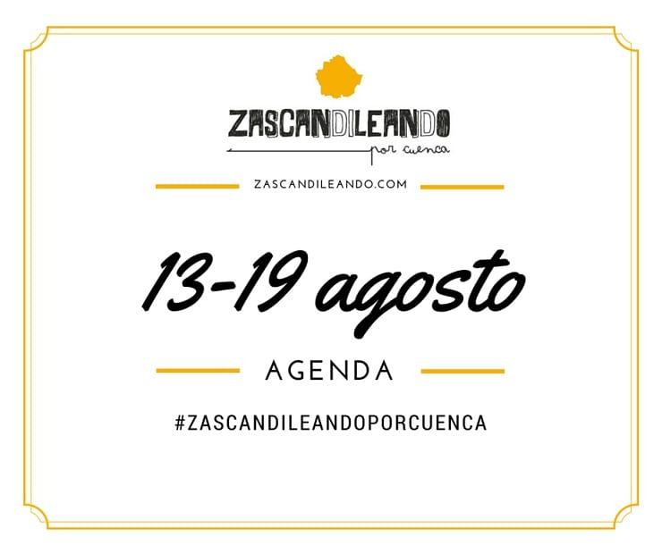 Planes en Cuenca del 13 al 19 de agosto de 2015