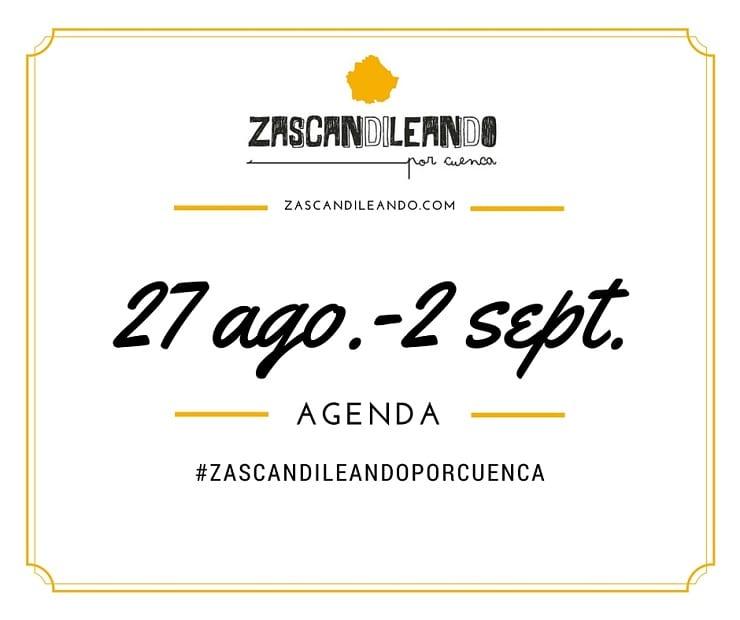 Planes en la provincia de Cuenca del 27 ago. al 2 sept.