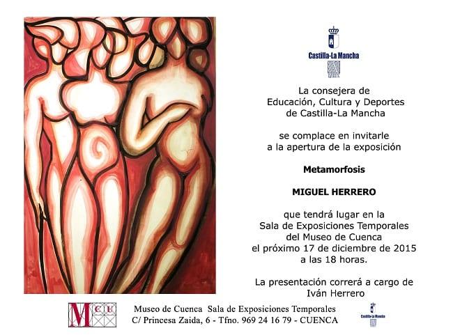 Metamorfosis, de Miguel Herrero en Cuenca