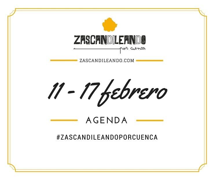 Agenda del 11 al 17 de febrero de 2016 en Cuenca