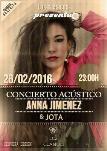 Anna Jiménez y Jota en el Pub Los Clásicos de Cuenca