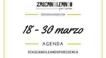 Agenda del 18 al 30 de marzo de 2016 en Cuenca