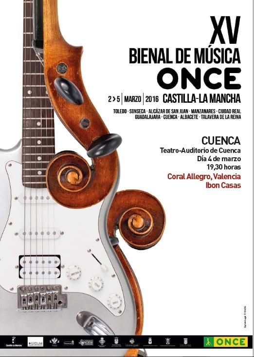 Coral Allegro e Ibon Casas en la Bienal de Música de la ONCE
