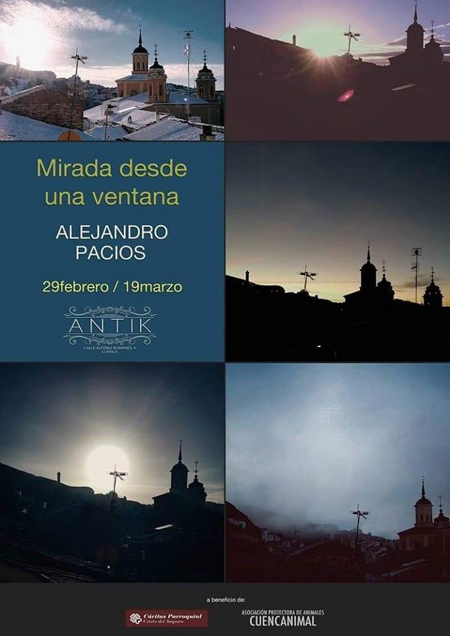 Mirada desde una Ventana, en Antik Cuenca