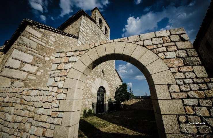 Iglesia parroquial de Santa María Magdalena en Poyatos, Cuenca