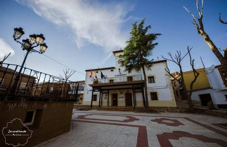 Plaza Mayor de Villarejo de Fuentes