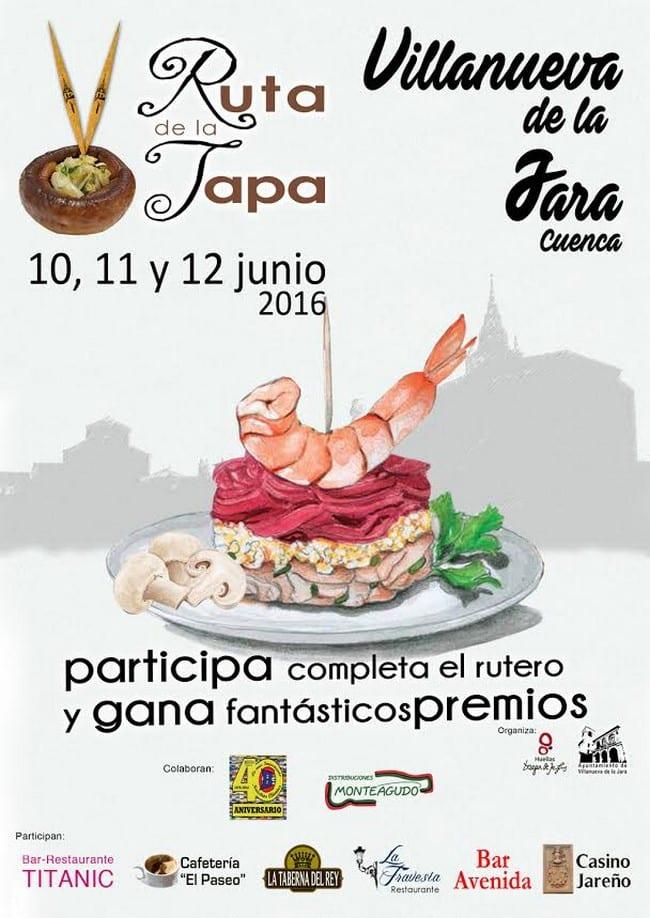 V Ruta de la Tapa en Villanueva de la Jara
