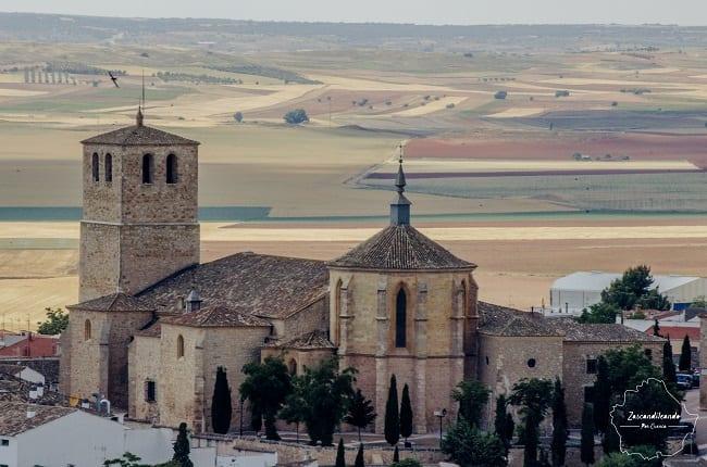 Colegiata de Belmonte, en Cuenca