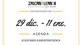 Agenda del 29 de diciembre al 11 de enero 2017 en Cuenca