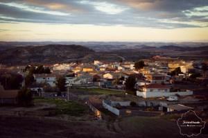 Panorámica de Leganiel, en Cuenca