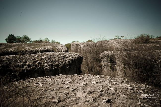Mar de piedra en Las Majadas
