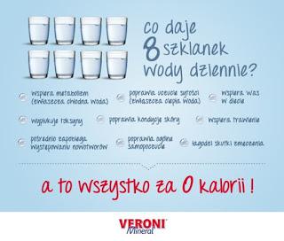 Co daje 8 szklanek wody dziennie 1