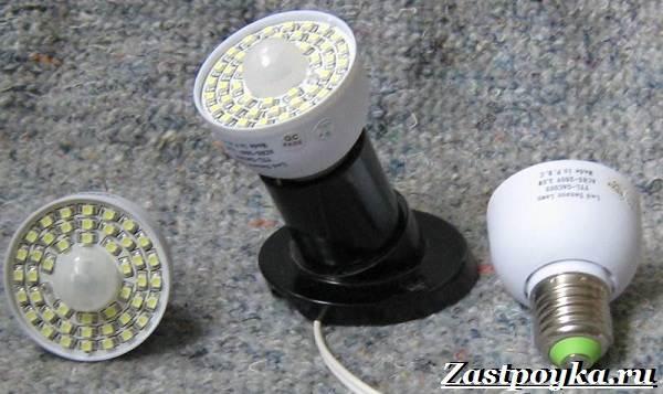 Датчик движения для включения светодиодных ламп
