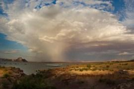 Orage sur le Lake Powell