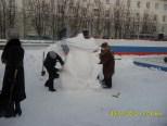 фигуры Снежные фигуры