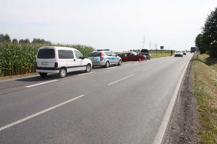 KPP Oświęcim Przeciszów wypadek drogowy 04.2014  (5)