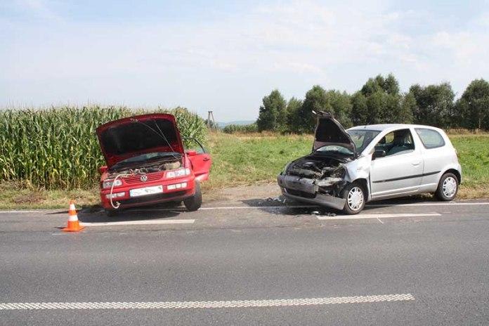 KPP Oświęcim Przeciszów wypadek drogowy 04.2014  (6)