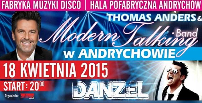 koncert modern talking andrychów