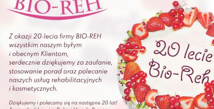 20 leci bio-reh