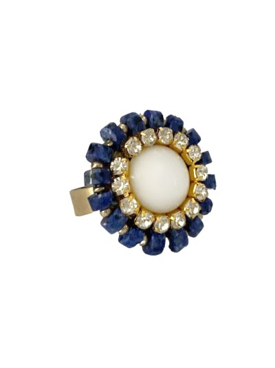 Cleo ring met agaat
