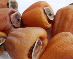 干し柿のカビの見分け方