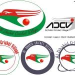 adcv logos - Al Dhaid Cricket Village