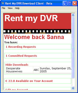 Rent My DVR