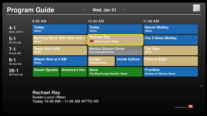 EyeTV Embraces TV Guide, Adds Season Passes