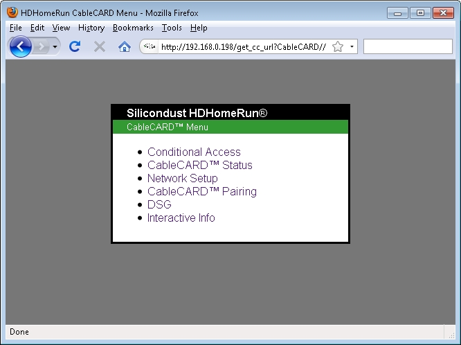 SiliconDust to Announce CableCARD HDHomeRun | Zatz Not Funny!