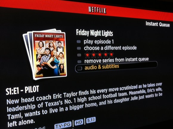 how to get subtitles on netflix on roku