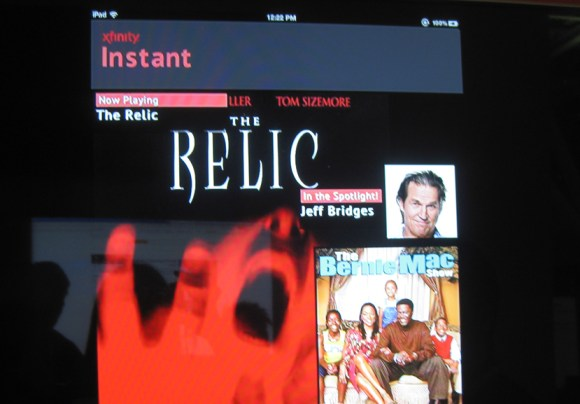 Comcast Xfinity Instant mobile video app 1