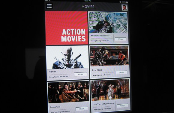 Comcast Xfinity Instant mobile video app 2