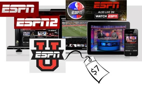 ESPN for $7