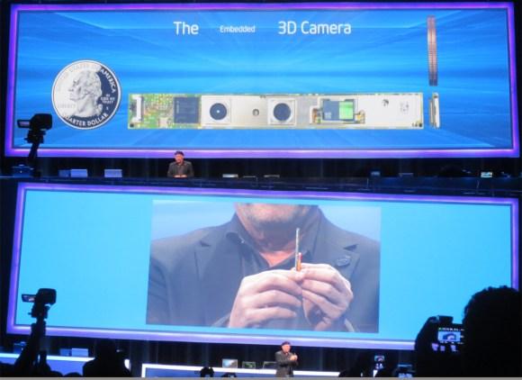 Intel 3D camera