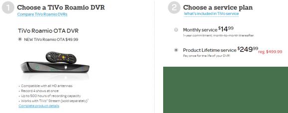 Tivo deals 2018