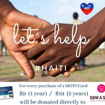 Let us help Haiti