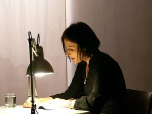 Marita Nienstedt liest aus Rabenblau