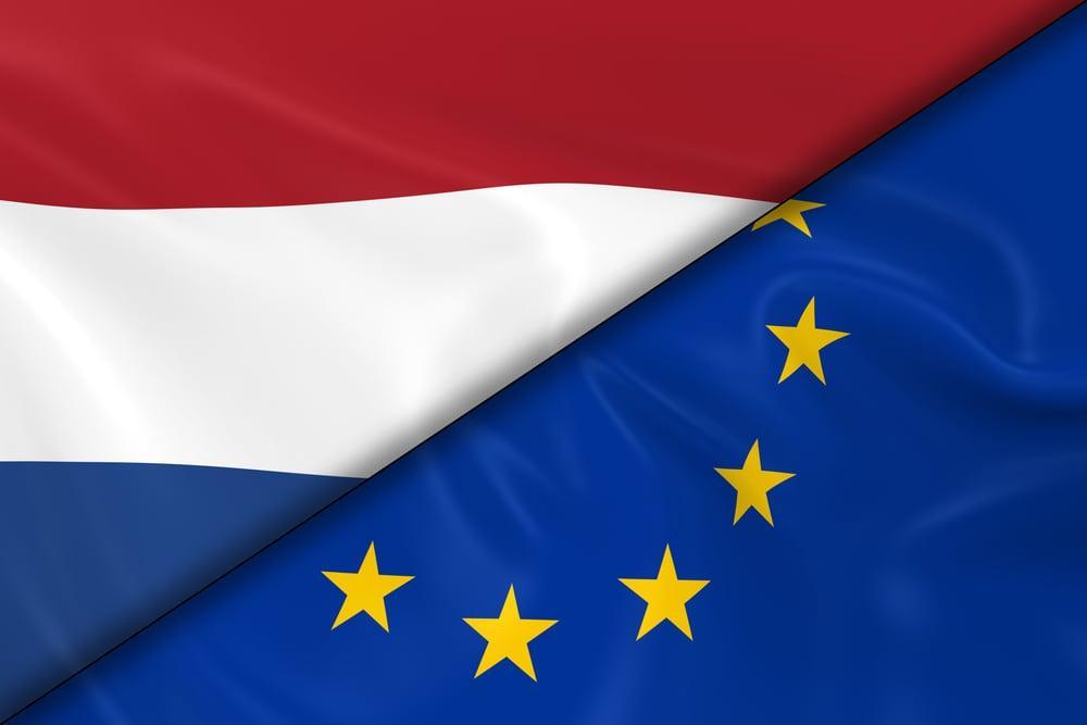 Флаг Нидерланов и ЕС