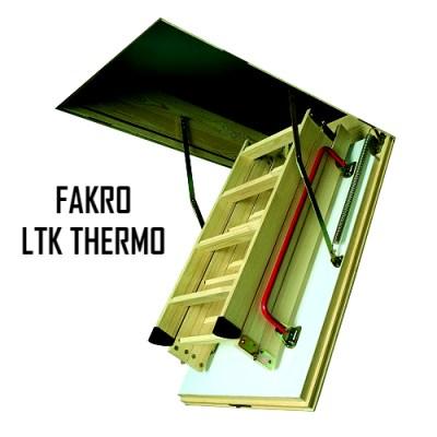 Чердачная лестница FAKRO LTK THERMO 70-130-280 - ZAVODKM