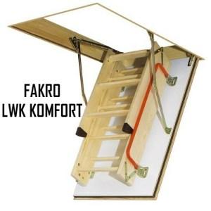Чердачная лестница FAKRO LWK KOMFORT 60-130-305 - ZAVODKM