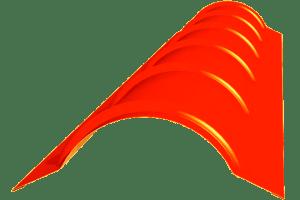 Планка круглого конька - ZAVODKM